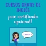 Cursos gratis de inglés con certificado opcional
