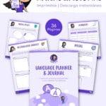 Language Planner & Journal