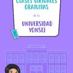 Clases virtuales gratuitas de la Universidad Yonsei