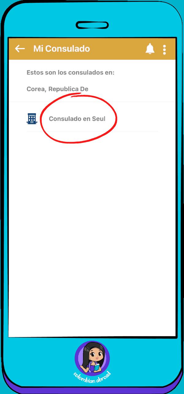 Mi Consulado App -Consulado en Seúl
